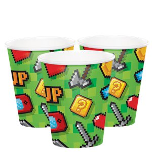 Game On Party Cups - 266ml Paper Cups