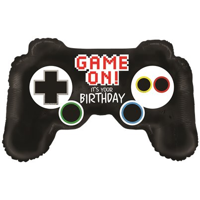 "Game Controller Birthday Balloon - 36"" Foil"