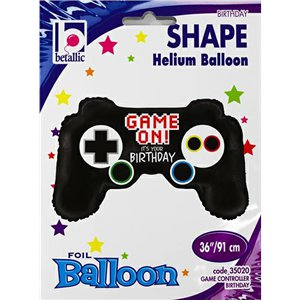 Game Controller Birthday Supersize Balloon - 36