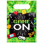 Game On Party Bags - Plastic Loot Bags