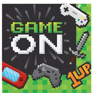Game On Party pack - Deluxe Pack For 8