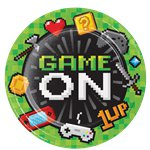Game On Party Plates - 22cm Paper Plates