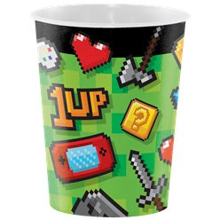 Game On Plastic Favour Cup - 473ml