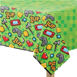 Game On Tablecover - 1.37m x 2.59m Plastic