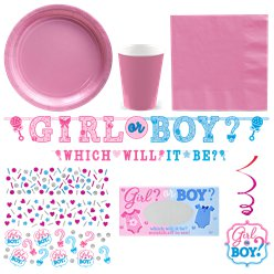 Gender Reveal Deluxe Party Pack