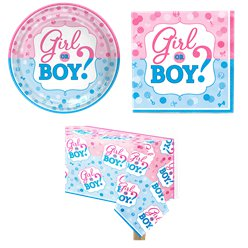 Gender Reveal Party Pack - Value Pack For 8
