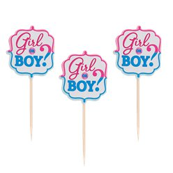 Gender Reveal Food Picks