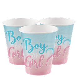 The Big Reveal Paper Cups - 250ml