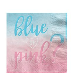 The Big Reveal Paper Napkins - 33cm