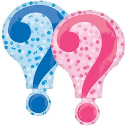 "Gender Reveal SuperShape Balloon - 26"" Foil"