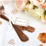 Geo Blush Wedding Small Luggage Tags