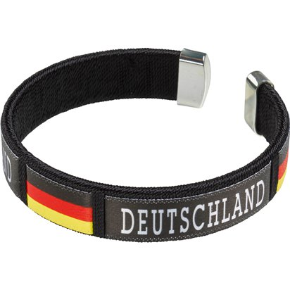 German Euro Cup Bracelet - International Party Supplies front