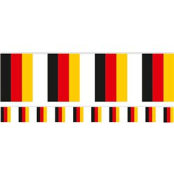 German Plastic Flag Bunting - 2.7m