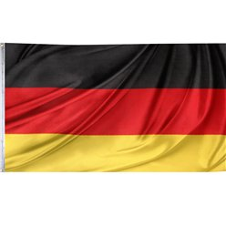 German Cloth Flag – 1.5m