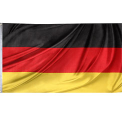 International Flag German Cloth Flag – 1.5m