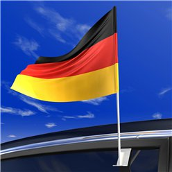 German Car Flag - 40cm