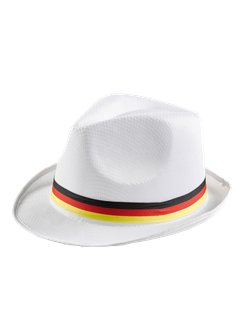 German Euro Cup White Trilby Hat
