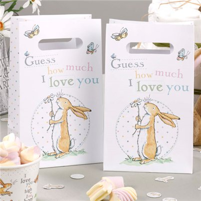 Guess How Much I Love You Party Bags - Paper Loot Bags