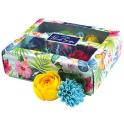 Luxury Boxed Scented Rainbow Soaps