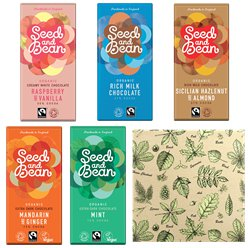Fairtrade Organic Choc Bars & Gift Wrap