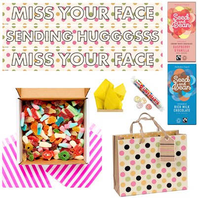 Miss Your Face DIY Fizzy Sweets Care Package