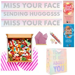 Sending Hugggss Fizzy Sweets Care Package
