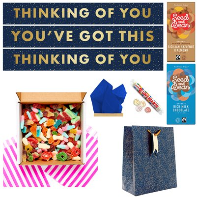Thinking of You DIY Fizzy Sweets Care Package
