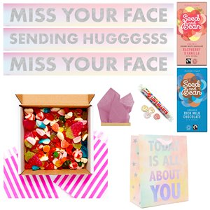 Sending Hugggss Jelly Sweets Care Package