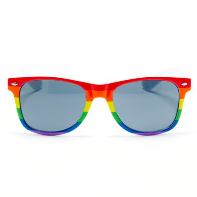 Rainbow Pride Glasses