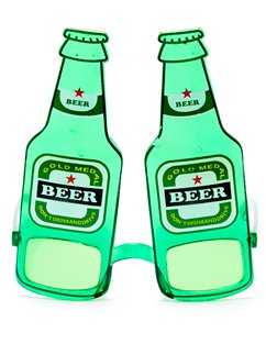 Beer Bottle Glasses