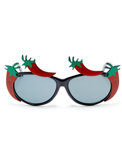 Red Chilli Pepper Glasses