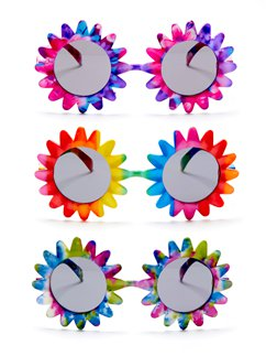 Sunflower Glasses - Assorted Colours