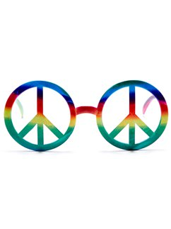 Hippie Peace Glasses