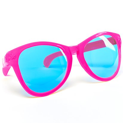 Jumbo Glasses - Clown Fancy Dress Accessories lifestyle
