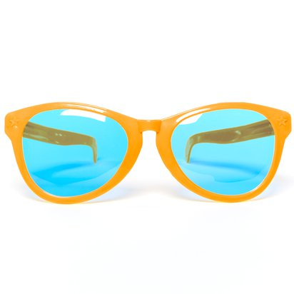 Jumbo Glasses - Clown Fancy Dress Accessories right