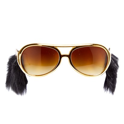 Sideburn Shades - Funny Glasses - Fancy Dress Accessories front