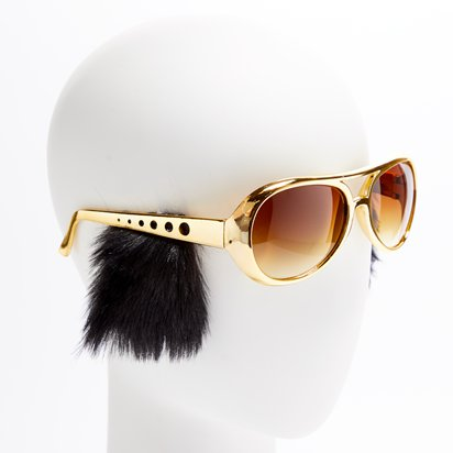 Sideburn Shades - Funny Glasses - Fancy Dress Accessories left