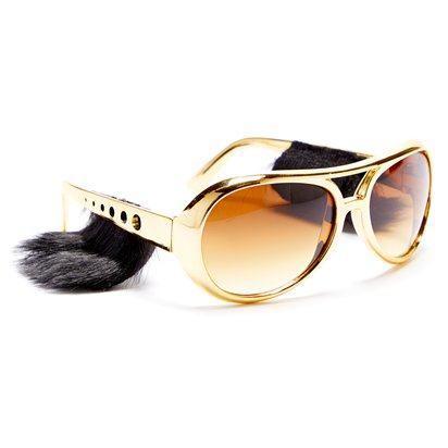 Sideburn Shades - Funny Glasses - Fancy Dress Accessories right