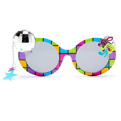 Disco 70's Glasses - Funny Glasses - Fancy Dress Accessories front