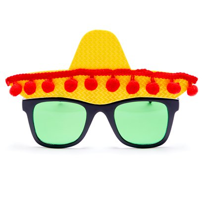 Fiesta Glasses - Funny Glasses - Fancy Dress Accessories front