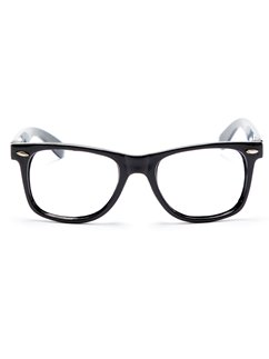 Black Nerd Glasses
