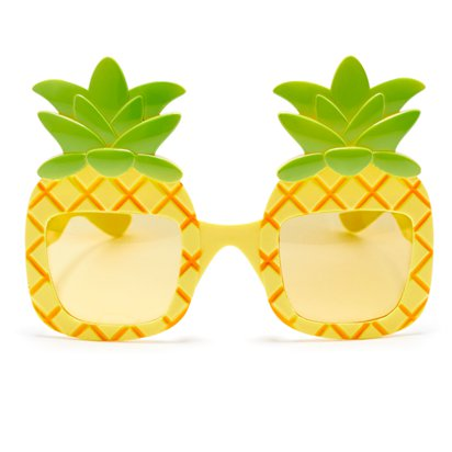 Pineapple Glasses front