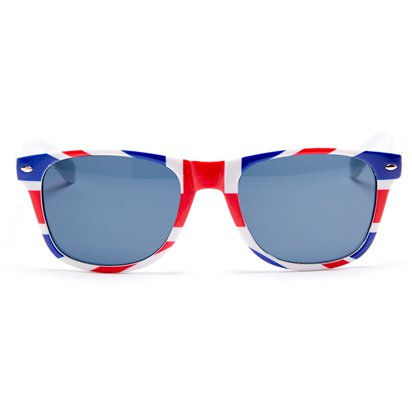Union Jack Glasses - Party Glasses - Royal Wedding Street Party  front
