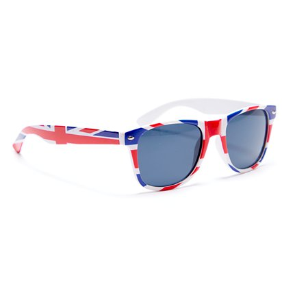 Union Jack Glasses - Party Glasses - Royal Wedding Street Party  left