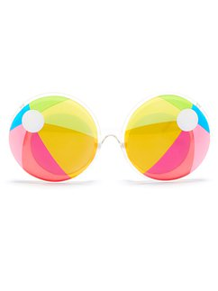 Novelty Beach Ball Glasses