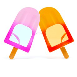 Ice Lolly Novelty Glasses