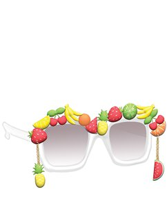 Multi Fruit Glasses
