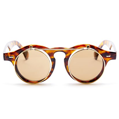 Steampunk Flip Up Glasses - Steampunk Accessories front