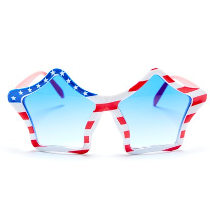 USA American Flag Party Glasses - 4th July Party Accessories front