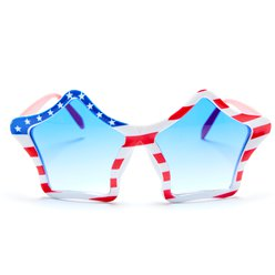 USA American Flag Glasses - 4th July